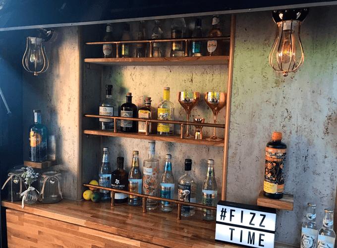 Piaggio Ape Gin Bar