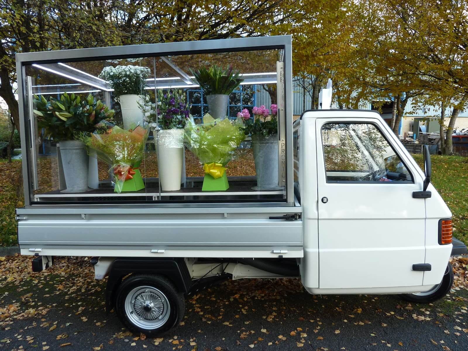 Flower Business Marketing Vehicle