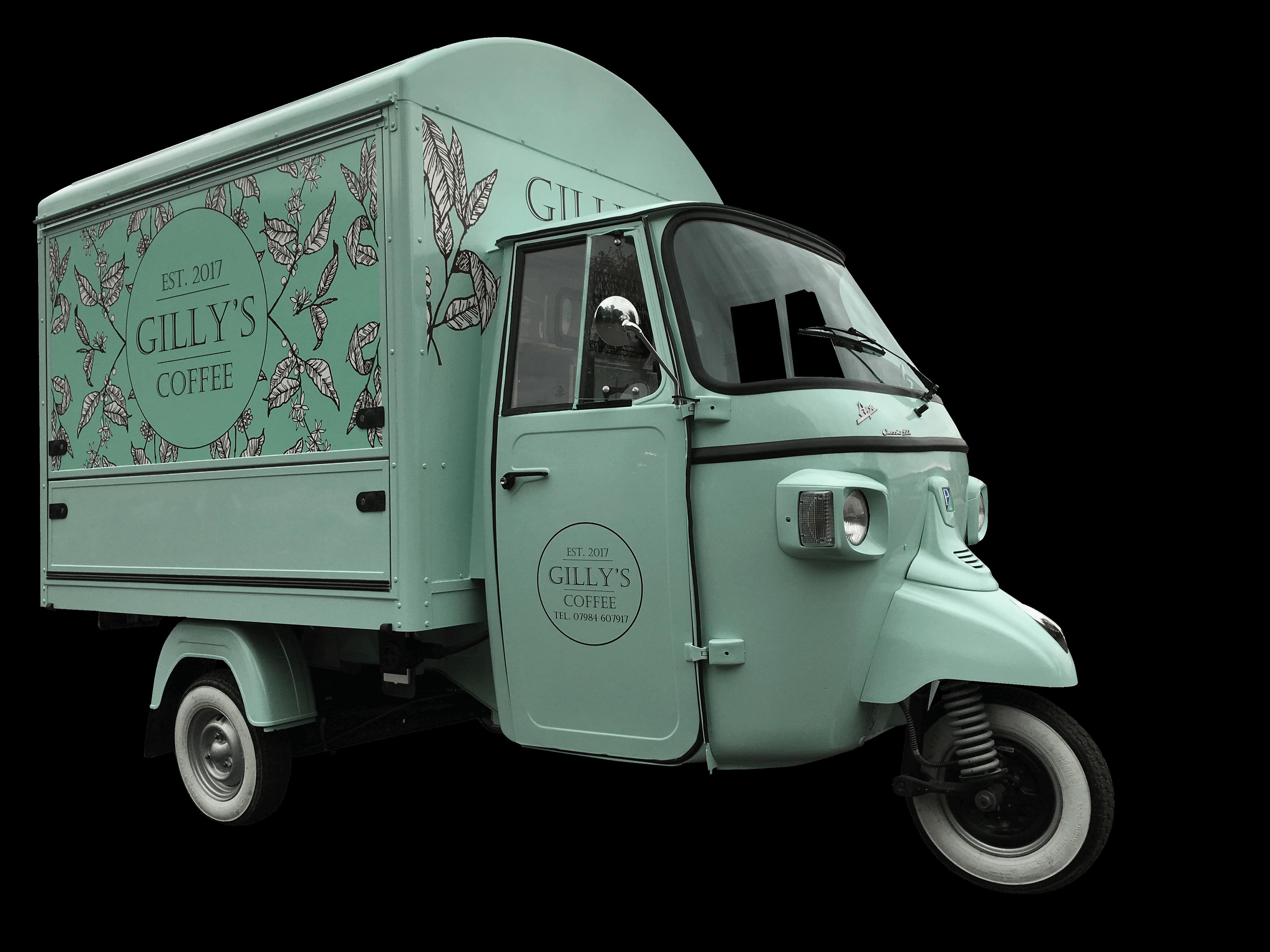 Ape Classic Coffee Van
