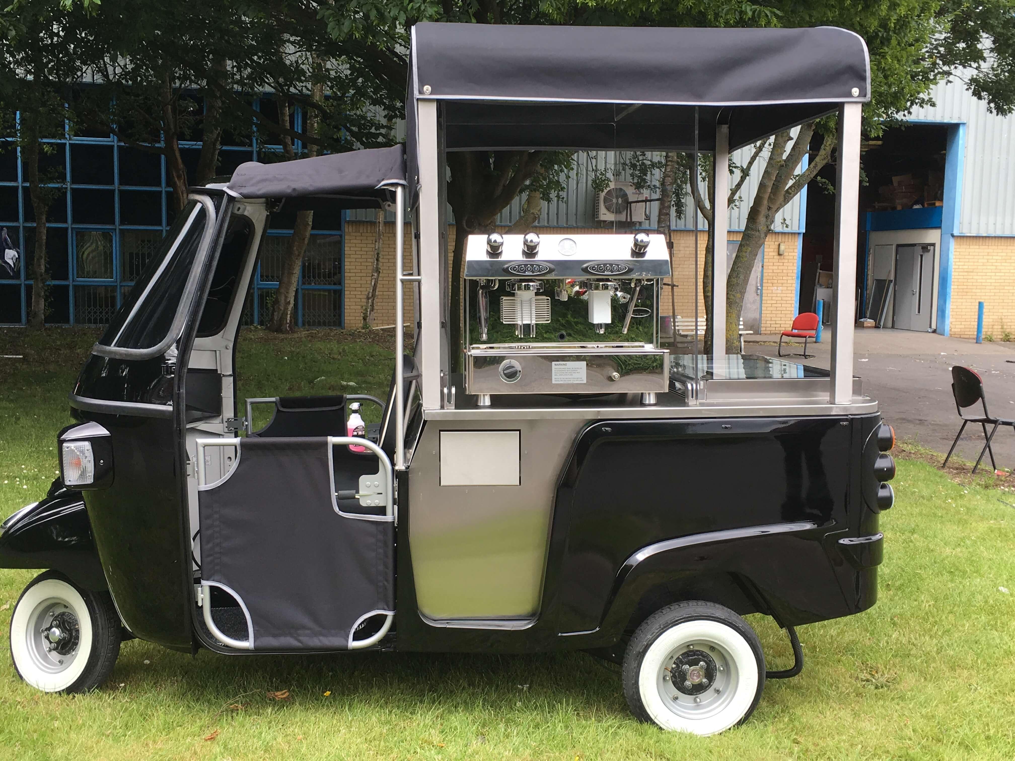 Ape Calessino Coffee Cart