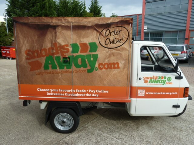 Ape Promotional Vehicle