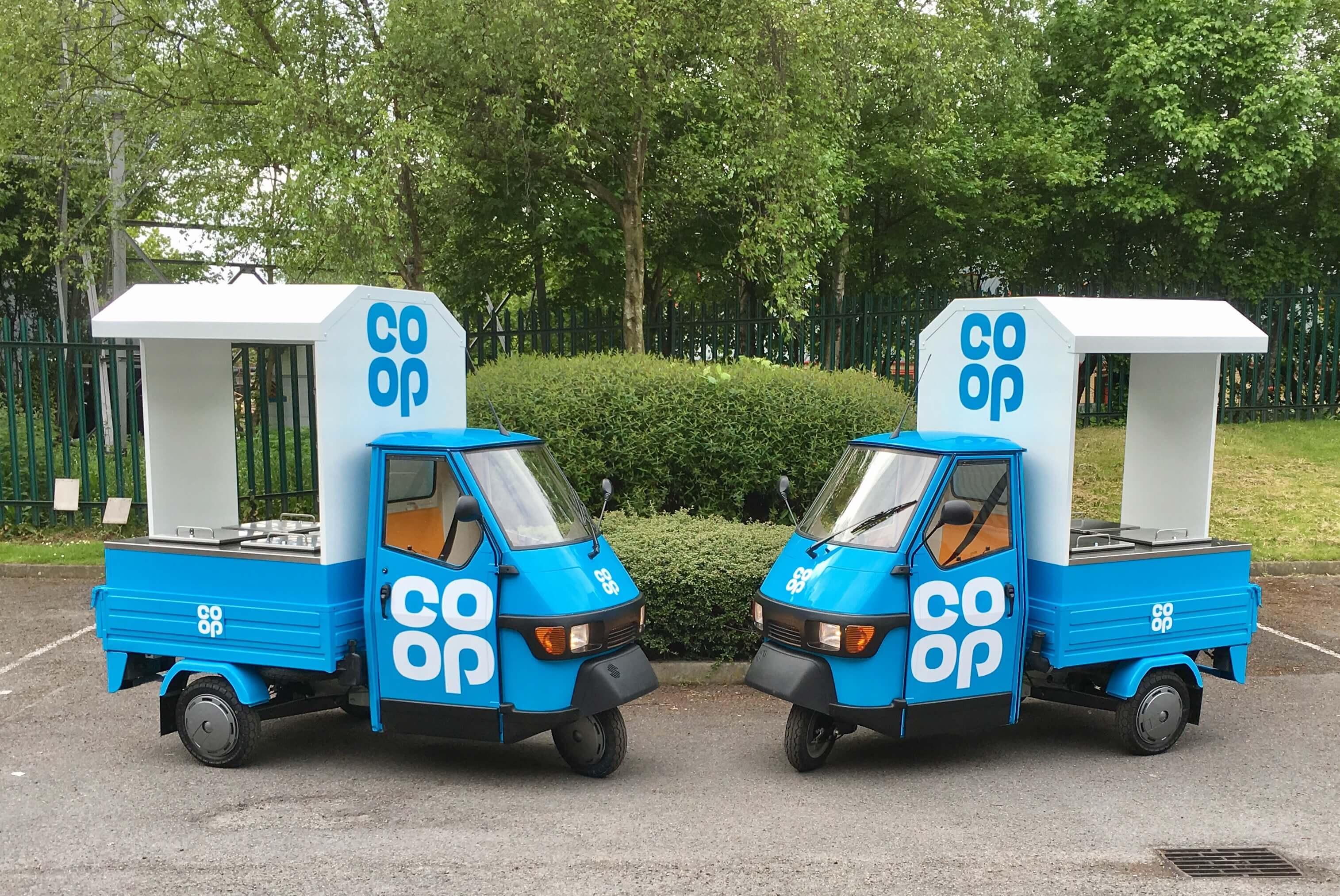 Co op Marketing Vehicles