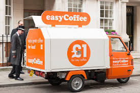 easyCoffee Marketing Vehicle