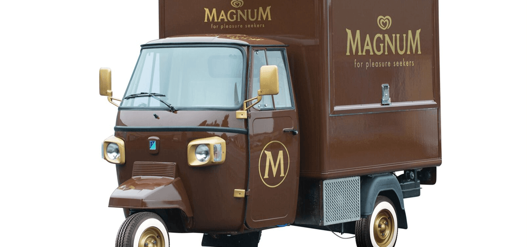 Ice Cream Marketing Vehicle