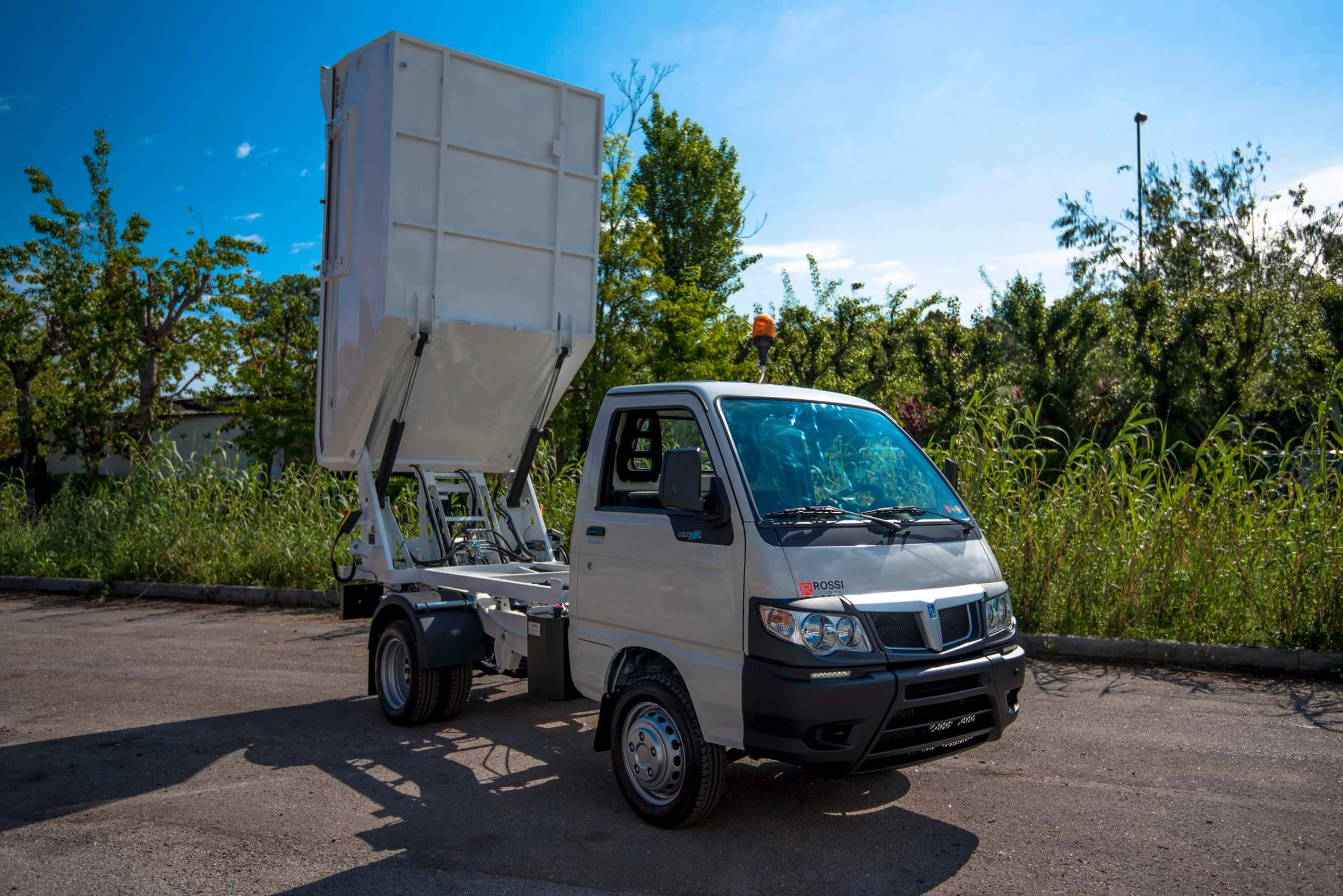piaggio waste management vehicles