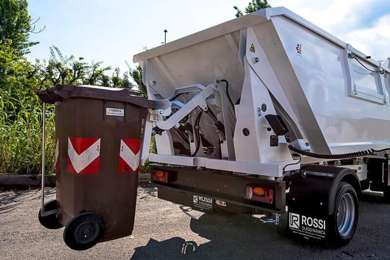 waste management bin lorry