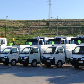 piaggio porter waste collection