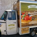 piaggio food delivery vans