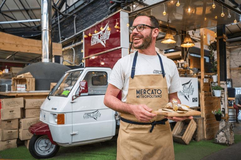 Piaggio street food vehicles